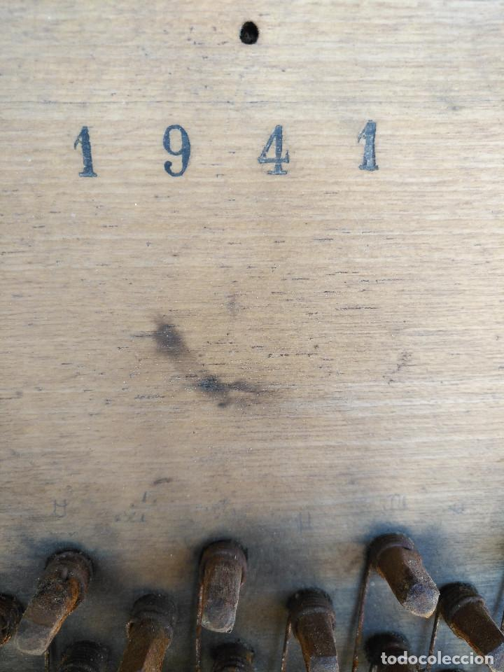 Instrumentos musicales: Arpa de piano de la fabrica de pianos de Theodor Wirth Barcelona 1941. - Foto 7 - 254772575