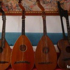 Instrumentos musicales: LOTE DE 4 LAUDES BAJO. Lote 254775095