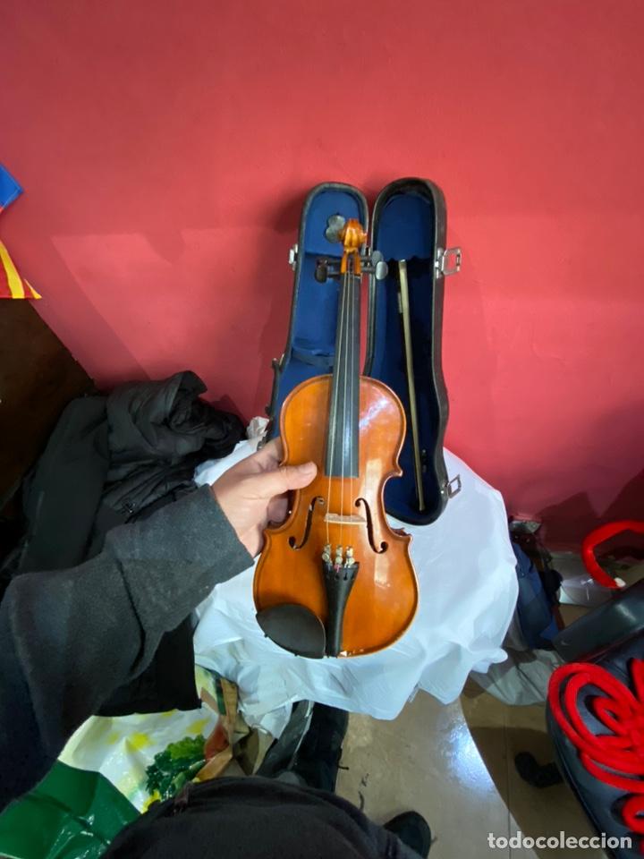 Instrumentos musicales: Antiguo violín de niño - Foto 5 - 254916565