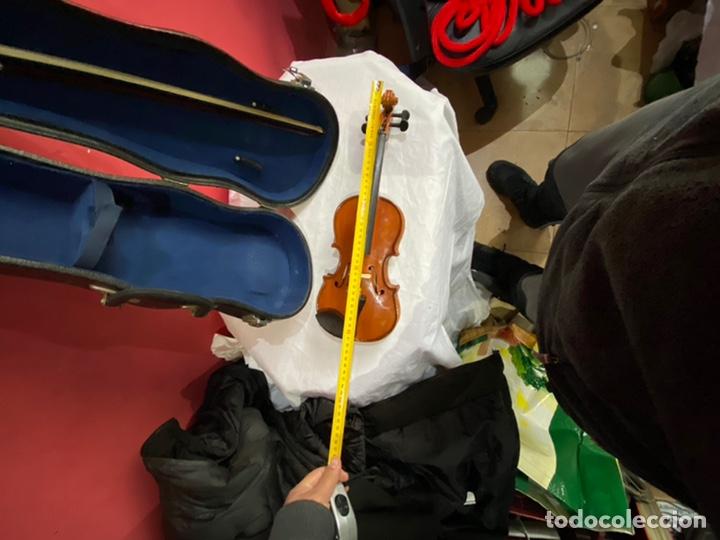Instrumentos musicales: Antiguo violín de niño - Foto 7 - 254916565