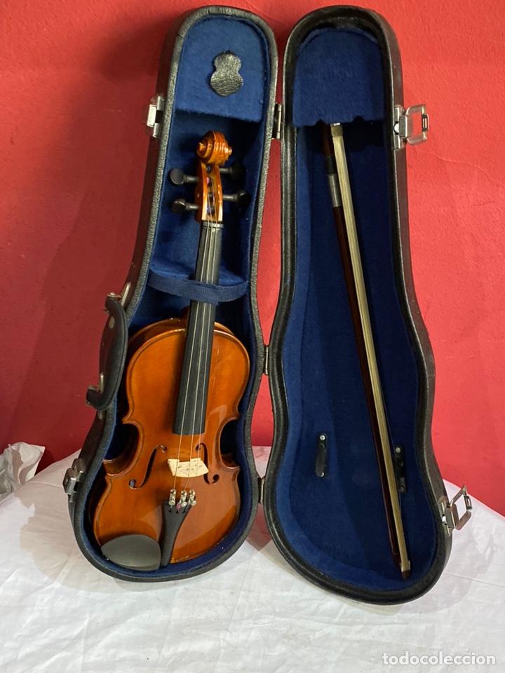 ANTIGUO VIOLÍN DE NIÑO (Música - Instrumentos Musicales - Guitarras Antiguas)