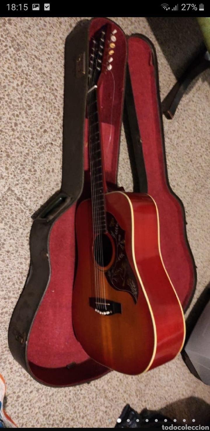 Instrumentos musicales: Guitarra aria 12 cuerdas de 1965 made in japan - Foto 2 - 255408355