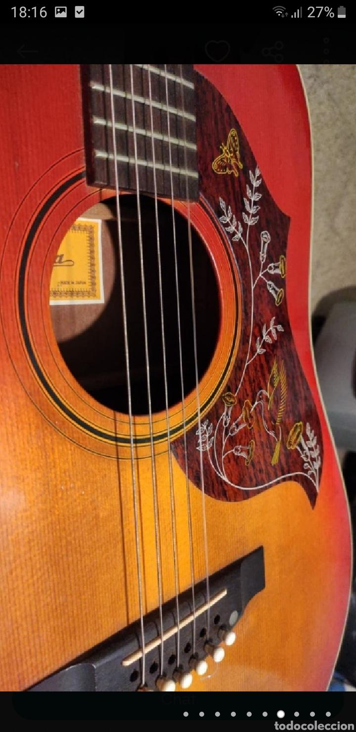 Instrumentos musicales: Guitarra aria 12 cuerdas de 1965 made in japan - Foto 7 - 255408355