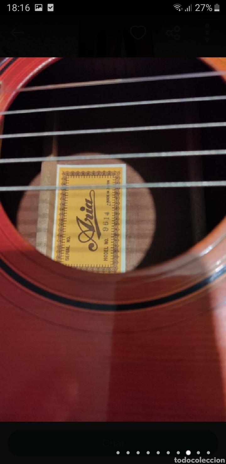 Instrumentos musicales: Guitarra aria 12 cuerdas de 1965 made in japan - Foto 8 - 255408355