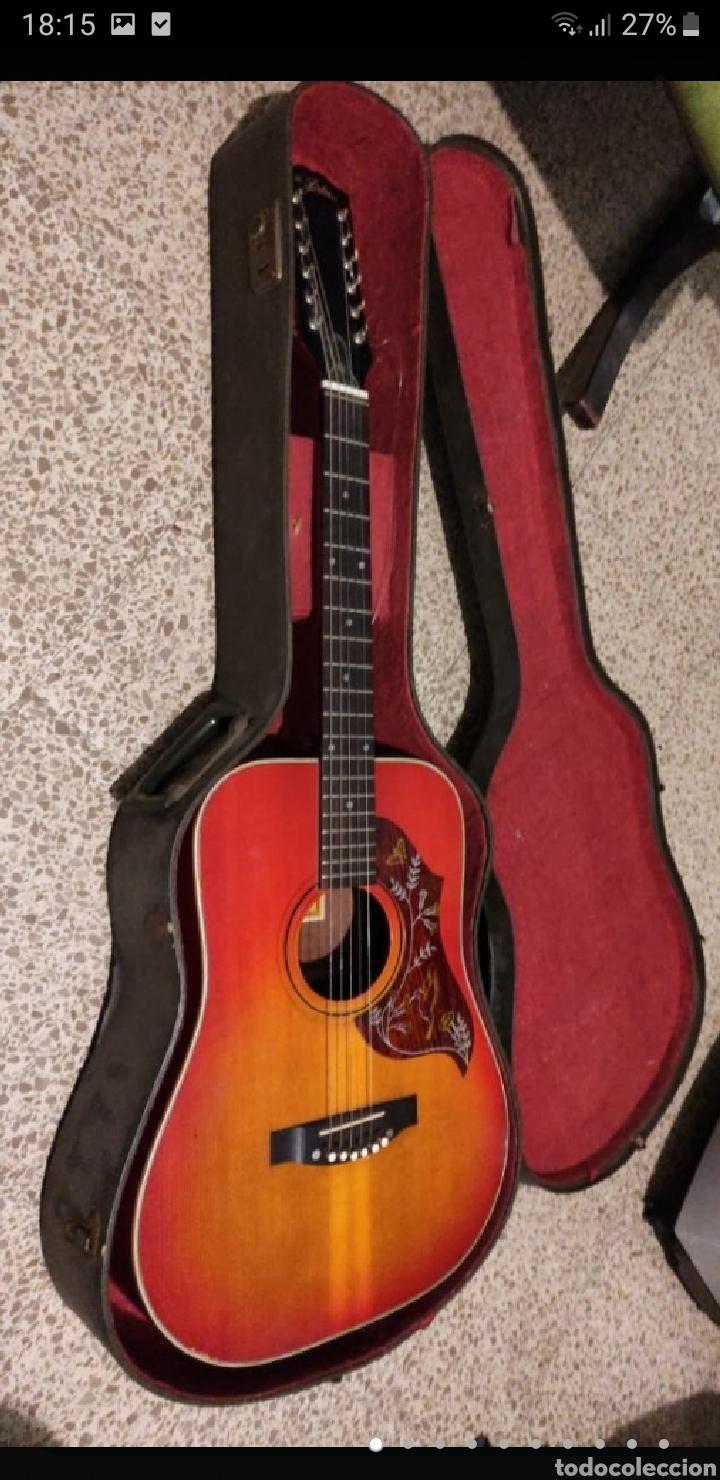 GUITARRA ARIA 12 CUERDAS DE 1965 MADE IN JAPAN (Música - Instrumentos Musicales - Guitarras Antiguas)