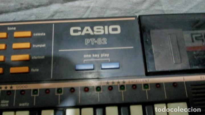 Instrumentos musicales: Piano órgano teclado Casio Tone PT82 - Foto 3 - 255581425