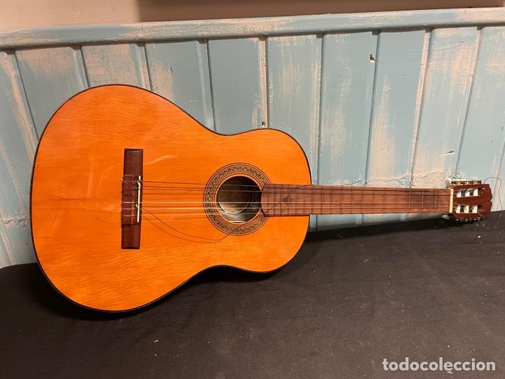 ANTIGUA GUITARRA VALENCIANA SUSPIRO (Música - Instrumentos Musicales - Guitarras Antiguas)