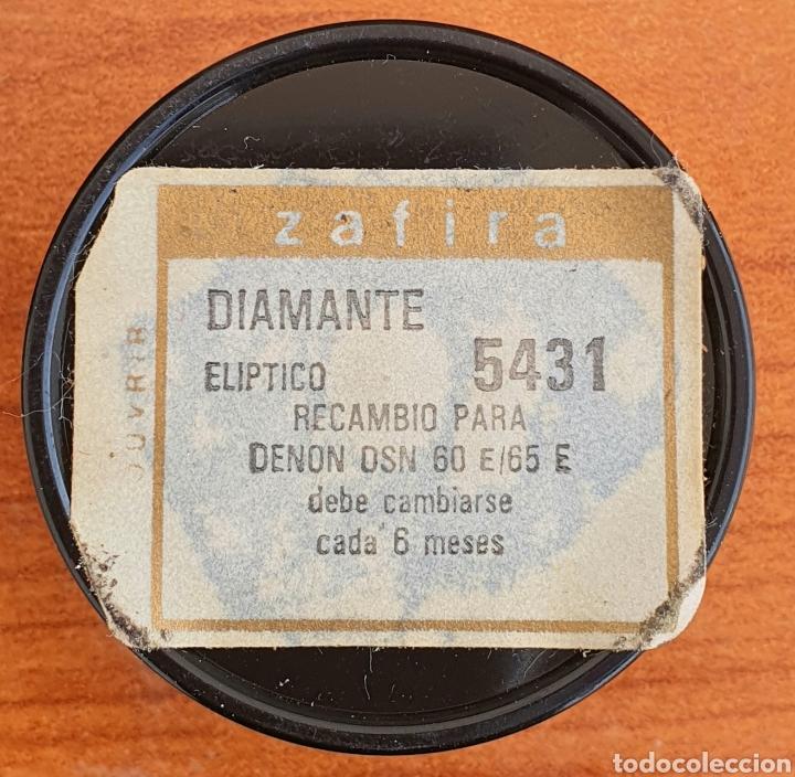 Instrumentos musicales: AGUJA TOCADISCOS DENON - DSN 60 E/65 E - ZAFIRO/DIAMANTE - Foto 4 - 256021080
