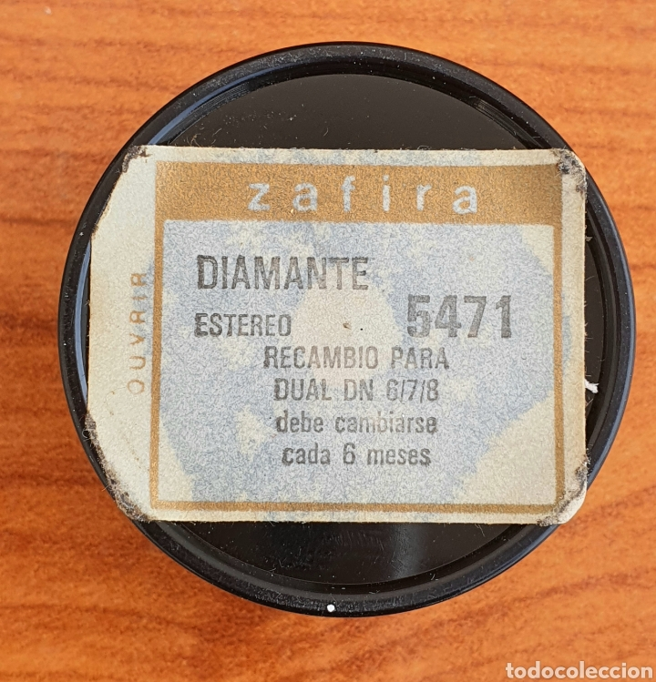 Instrumentos musicales: AGUJA TOCADISCOS DUAL 6/7/8 - ZAFIRO - DIAMANTE - Foto 3 - 256026350