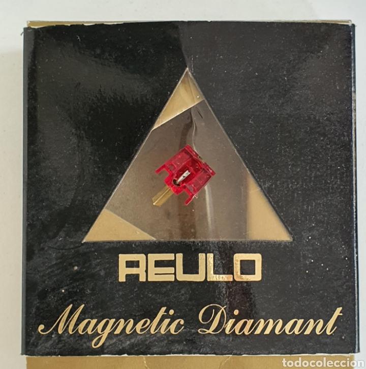 Instrumentos musicales: AGUJA TOCADISCOS REULO - DIAMANTE - Foto 2 - 257287465