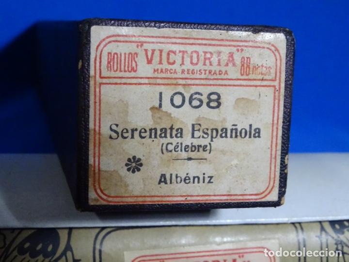 Instrumentos musicales: ROLLO DE PIANOLA. SERENATA ESPAÑOLA. ALBENIZ. - Foto 2 - 257351445
