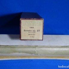 Instrumentos musicales: ROLLO DE PIANOLA. SONATA OP 27. BEETHOVEN.. Lote 257351515