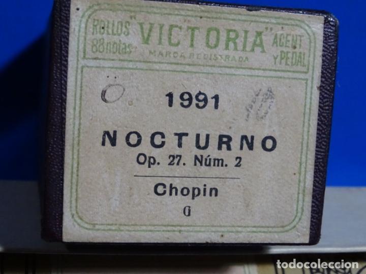ROLLO DE PIANOLA. NOCTURNO. CHOPIN. (Música - Instrumentos Musicales - Accesorios)