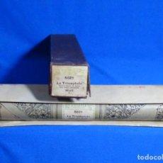 Instrumentos musicales: ROLLO DE PIANOLA. TRIOMPHALE. WOLFF.. Lote 257352665