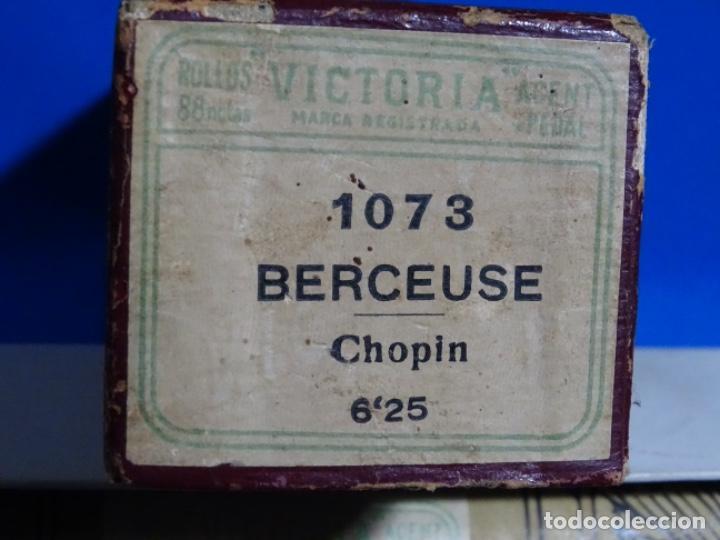 Instrumentos musicales: ROLLO DE PIANOLA. BERCAUSE. CHOPIN. - Foto 2 - 257352740