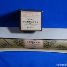 Instrumentos musicales: ROLLO DE PIANOLA. CARNAVAL. SCHUMANN.. Lote 257352795