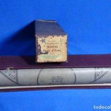Instrumentos musicales: ROLLO DE PIANOLA. JEUX D' EAU. RAVEL.. Lote 257352900