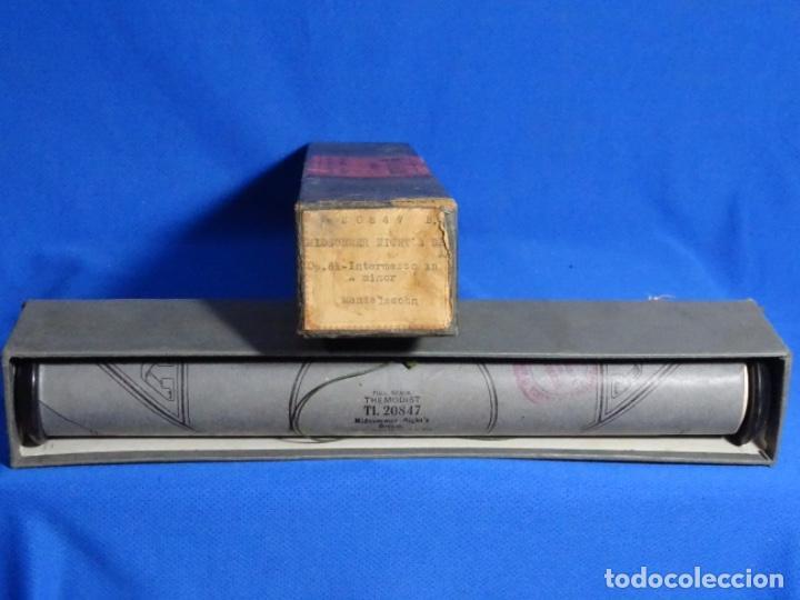 ROLLO DE PIANOLA. MIDSUMMER NIGHT'S. MENDELSON (Música - Instrumentos Musicales - Accesorios)