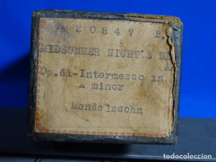 Instrumentos musicales: ROLLO DE PIANOLA. MIDSUMMER NIGHT'S. MENDELSON - Foto 2 - 257353010