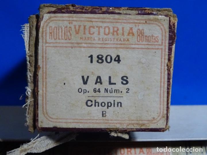 Instrumentos musicales: ROLLO DE PIANOLA. VALS. CHOPIN. - Foto 2 - 257353265