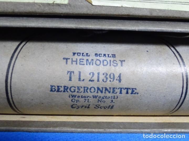 Instrumentos musicales: ROLLO DE PIANOLA. BERGERONNETTE. CYRIL SCOTT. - Foto 2 - 257353305