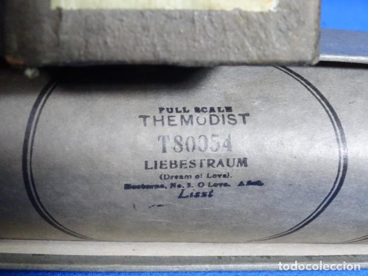 Instrumentos musicales: ROLLO DE PIANOLA. LIEBESTRAUM. LISZT. - Foto 2 - 257353335