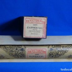 Instrumentos musicales: ROLLO DE PIANOLA. CARNAVAL. SCHUMAN.. Lote 257353485