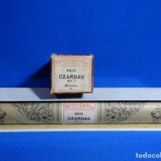 Instrumentos musicales: ROLLO DE PIANOLA. CZARDAS. MICHIELS.. Lote 257353565