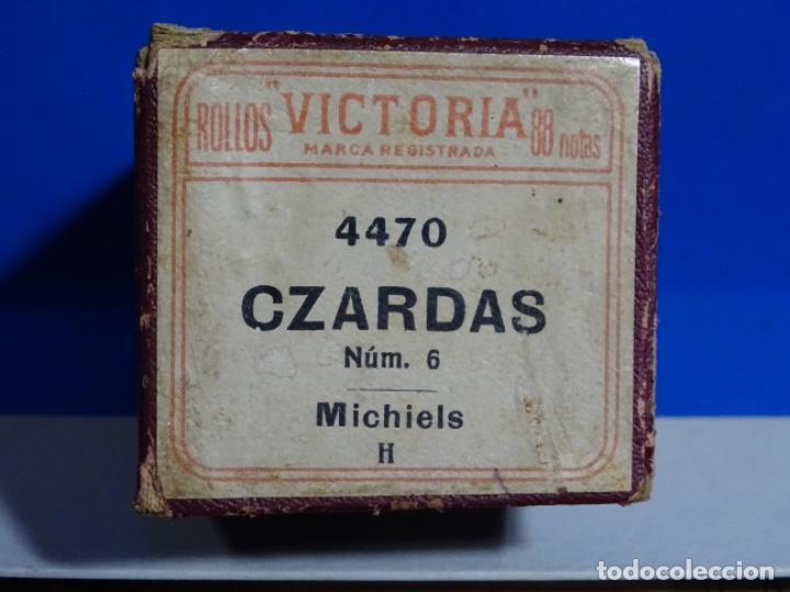 Instrumentos musicales: ROLLO DE PIANOLA. CZARDAS. MICHIELS. - Foto 2 - 257353565