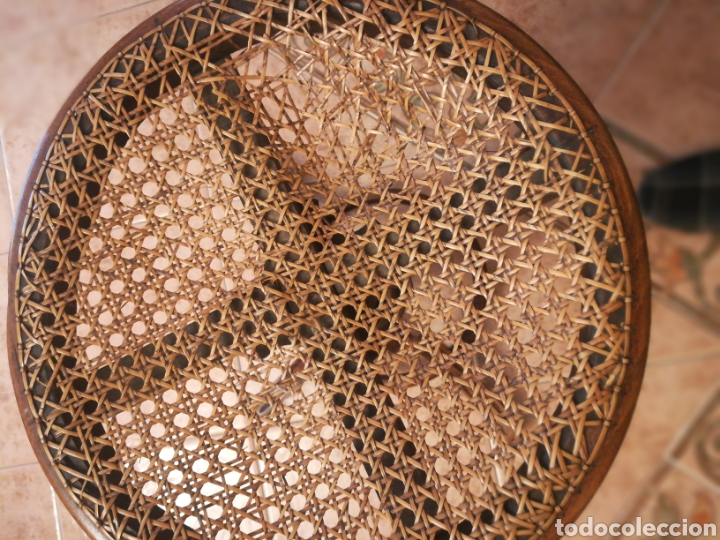Instrumentos musicales: Banqueta de piano antigua. - Foto 4 - 169934334