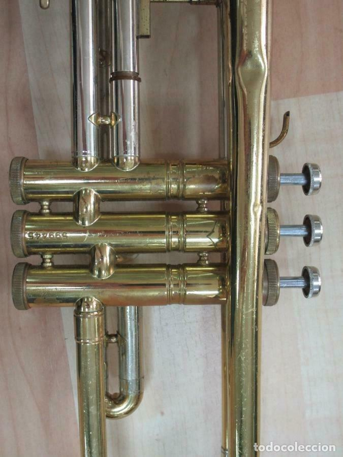 Instrumentos musicales: MAGNIFICA trompeta, aprox. 54 cm + maleta Musica Steyr-Austria - Foto 4 - 257702595