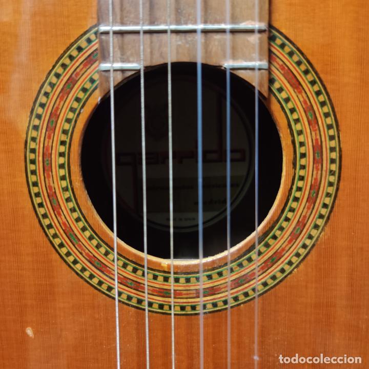 Instrumentos musicales: Guitarra española clásica. Garrido. Madrid. Revisada y recién encordada. Bonito sonido flamenco. - Foto 3 - 257957910