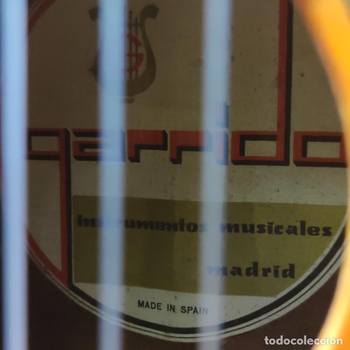 Instrumentos musicales: Guitarra española clásica. Garrido. Madrid. Revisada y recién encordada. Bonito sonido flamenco. - Foto 5 - 257957910