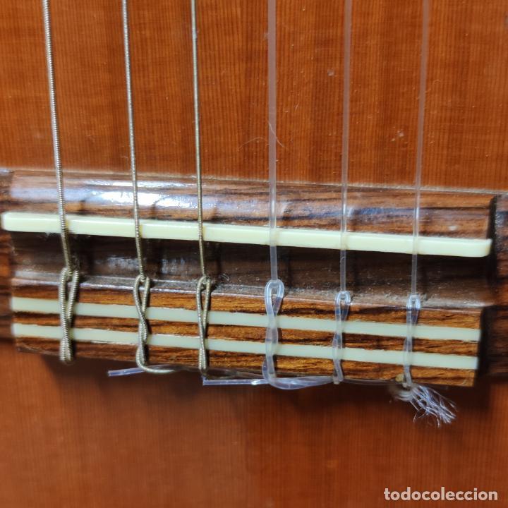 Instrumentos musicales: Guitarra española clásica. Garrido. Madrid. Revisada y recién encordada. Bonito sonido flamenco. - Foto 6 - 257957910