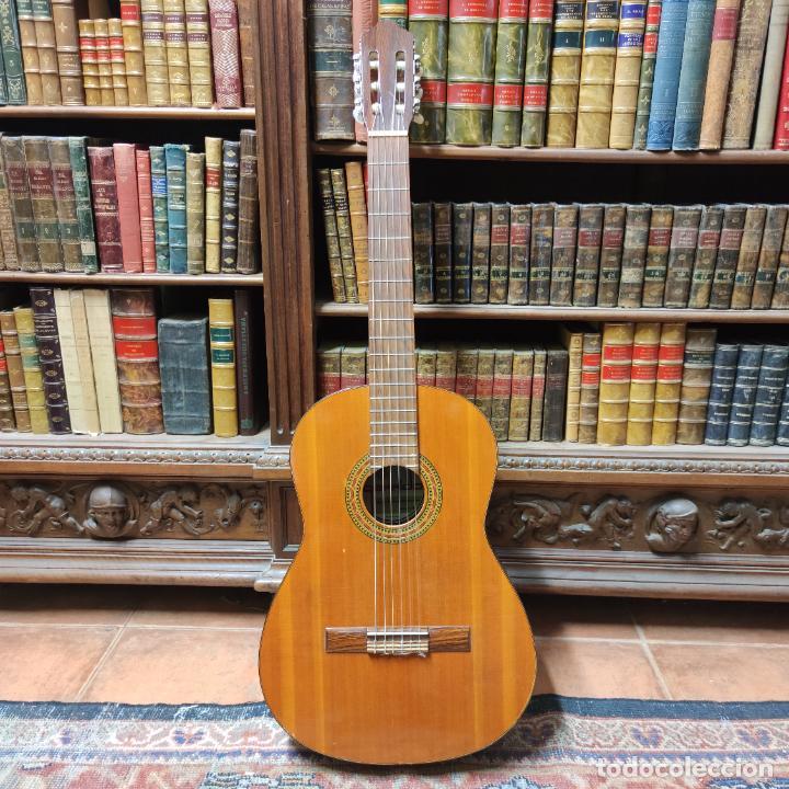 GUITARRA ESPAÑOLA CLÁSICA. GARRIDO. MADRID. REVISADA Y RECIÉN ENCORDADA. BONITO SONIDO FLAMENCO. (Música - Instrumentos Musicales - Guitarras Antiguas)