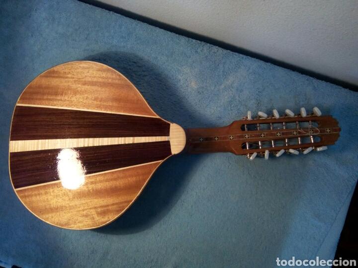 Instrumentos musicales: Bandurria modelo Calvete.Instrumento artesanal - Foto 2 - 258002590