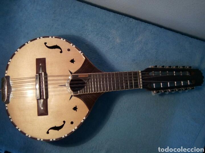 Instrumentos musicales: Bandurria modelo Calvete.Instrumento artesanal - Foto 3 - 258002590