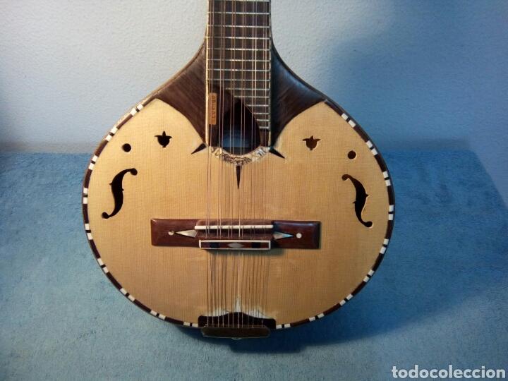 BANDURRIA MODELO CALVETE.INSTRUMENTO ARTESANAL (Música - Instrumentos Musicales - Cuerda Antiguos)