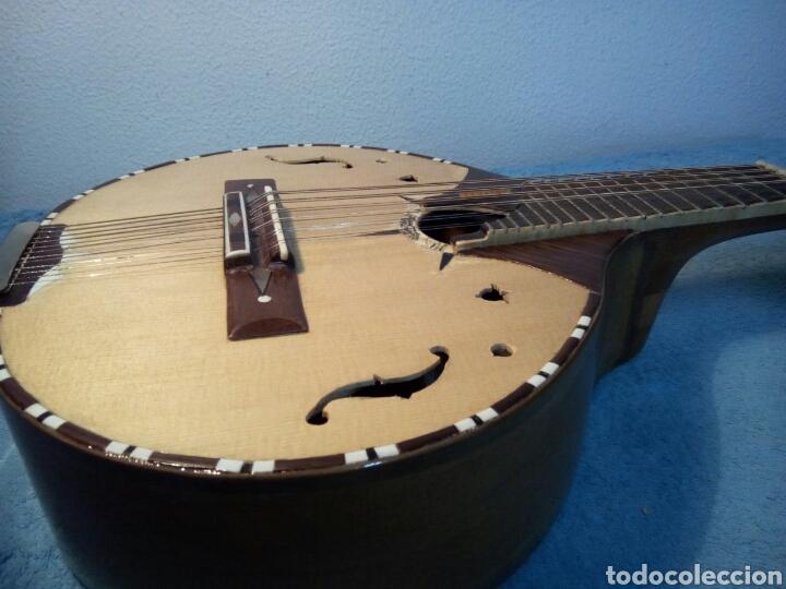 Instrumentos musicales: Bandurria modelo Calvete.Instrumento artesanal - Foto 4 - 258002590