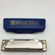 Instrumentos Musicais: ARMONICA CON FUNDA M.HOHNER, BLUES HARP ( E ) ( GERMANY ). Lote 258252365