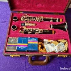 Instrumentos Musicais: CLARINETE HENRI SELMER PARIS EN EBANO. Lote 258515670