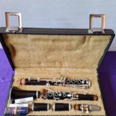 Instrumentos Musicais: CLARINETE HENRI SELMER PARIS EN EBANO. Lote 258515960
