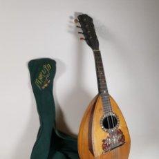 Instrumentos musicales: ANTIGUA MANDOLINA DE GALAPAGO ORIGINAL DEL SIGLO XIX -FRANCIA .MARCA PHEBE. Lote 258781785