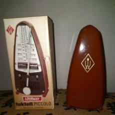 Instrumentos musicales: METROMONO WITTNER TACTELL PICCOLO ANTIGUO Y SIN ESTRENAR. Lote 258803965