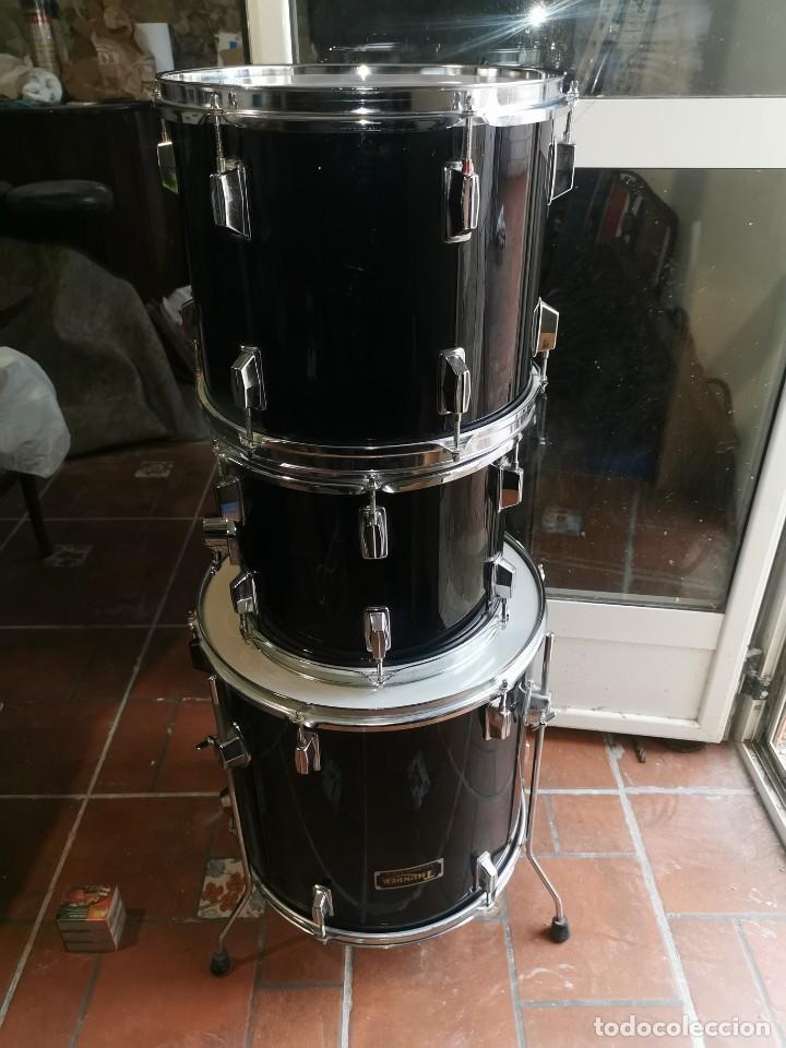 Instrumentos musicales: 3 Tom de batería thunder.casi nuevos - Foto 6 - 192931326