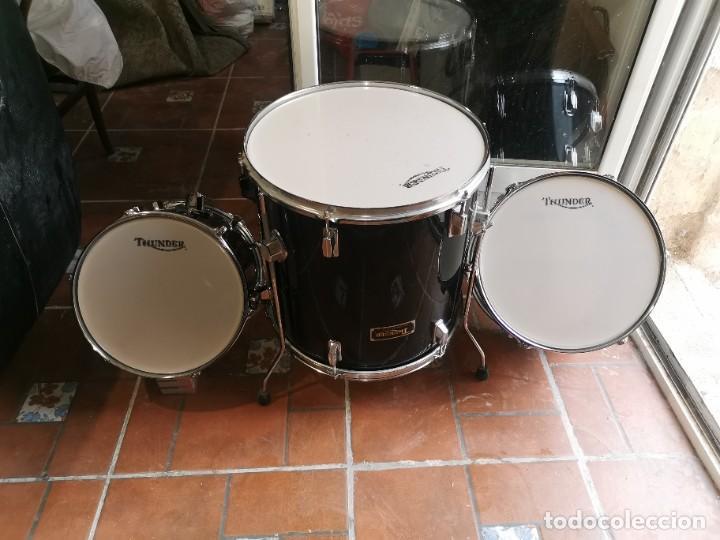 3 TOM DE BATERÍA THUNDER.CASI NUEVOS (Música - Instrumentos Musicales - Percusión)