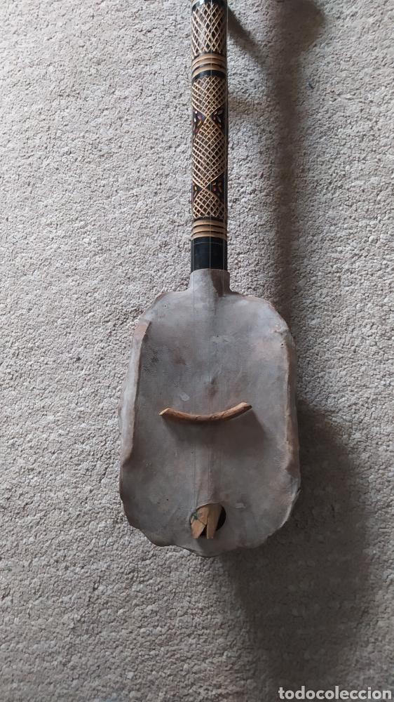 Instrumentos musicales: Antigua guitarra caparazon - Foto 3 - 258987395
