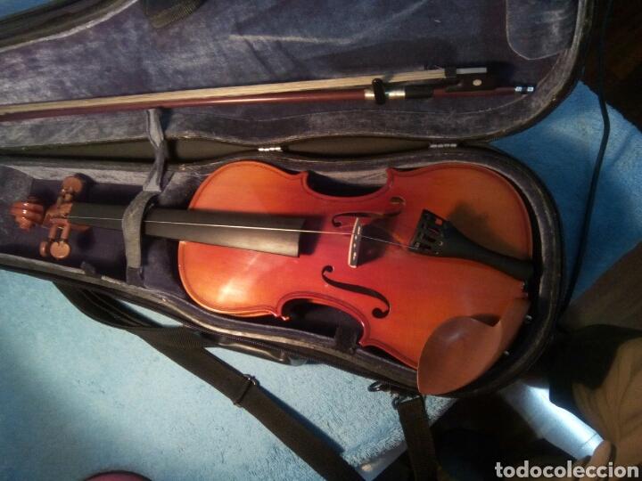 Instrumentos musicales: Bonito violín mod.CCreutzer 5 VI Creutzer Sise 1/2 con estuche incluido. - Foto 5 - 260718215