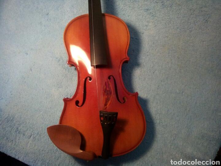 BONITO VIOLÍN MOD.CCREUTZER 5 VI CREUTZER SISE 1/2 CON ESTUCHE INCLUIDO. (Música - Instrumentos Musicales - Cuerda Antiguos)