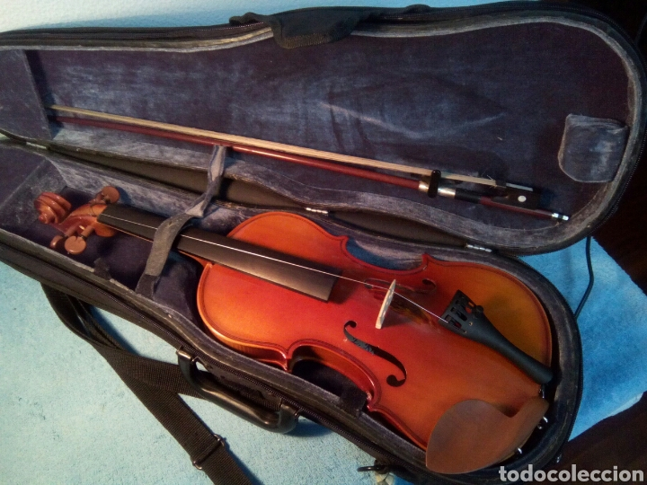 Instrumentos musicales: Bonito violín mod.CCreutzer 5 VI Creutzer Sise 1/2 con estuche incluido. - Foto 10 - 260718215